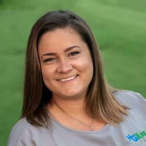 Nicky Stacey, NG Turf logistics manager, Certified turfgrass professional