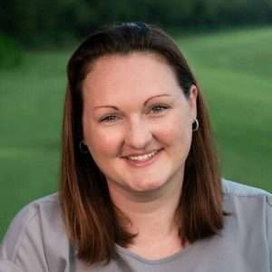 Amanda Brecher, certified turfgrass professional at NG Turf