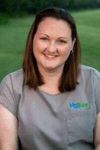 Amanda, certified turfgrass professional