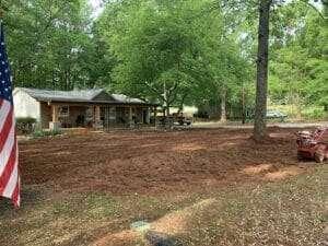 lawn renovation in Coweta County Georgia