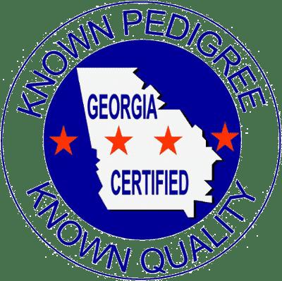Georgia certified sod logo