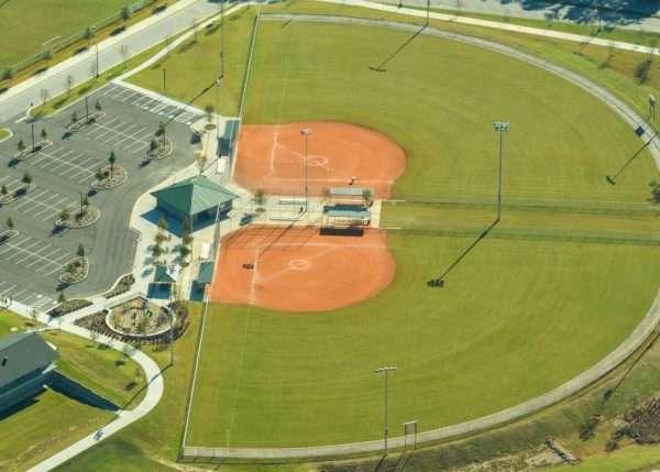 sports fields sodded with tifway bermuda sod from NG Turf, Atlanta GA