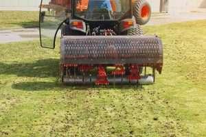 aeration of soil