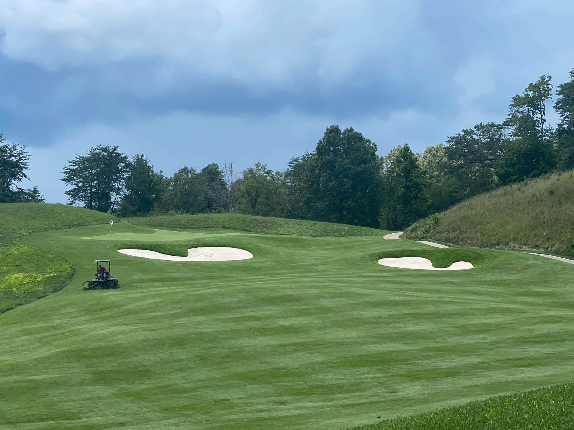 Sequoyah National Golf Course new sod installation finished