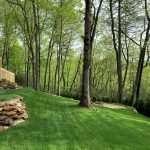 New sod installation on Marvelous Mountain Retreat Renovation