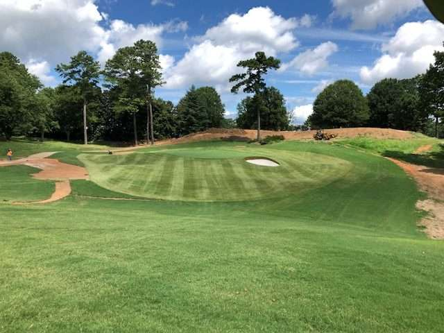 zeon zoysia sod from NG Turf installed at Sugarloaf golf course