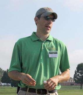Dr. Patrick McCullough, UGA professor of crop and soil sciences