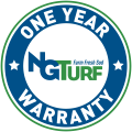 one year NG Turf sod warranty seal